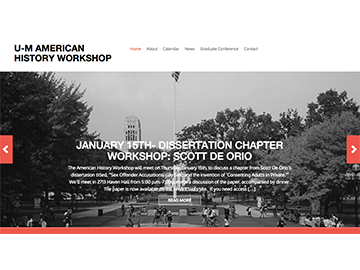 U-M American History Workshop02