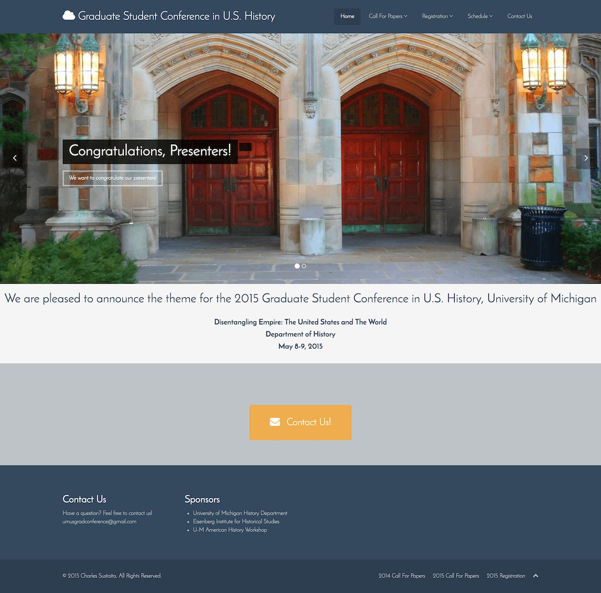 um-graduate-student-conference